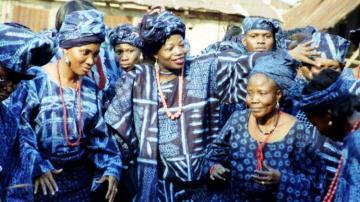 Adire - Indigo Textiles amongst the Yoruba