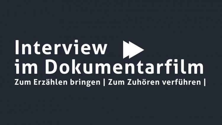 Das Interview im Dokumentarfilm